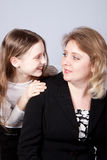 Happy mum and daughter Stock Photos