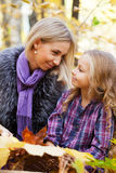Happy mum and the daughter Royalty Free Stock Images