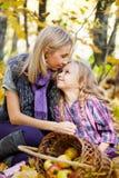 Happy mum and the daughter Stock Photo