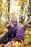 Happy mum and the daughter Stock Photography