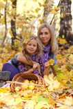 Happy mum and the daughter Royalty Free Stock Photography