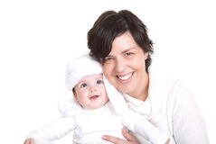 Happy mum and little child Royalty Free Stock Image