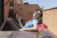 Happy music Royalty Free Stock Images