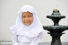 Happy Muslim Child Royalty Free Stock Photo