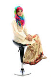 A happy Muslims girl Royalty Free Stock Photos
