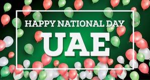 Happy National Day UAE. Royalty Free Stock Photo