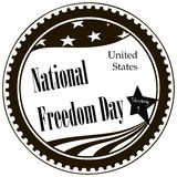 Happy National Freedom Day Royalty Free Stock Photo