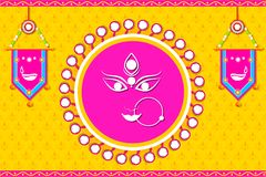 Happy Navratri Royalty Free Stock Images