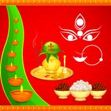 Happy Navratri Stock Photography