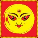 Happy navratri festival design Royalty Free Stock Photography