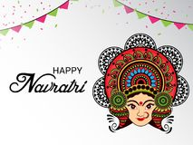 Happy Navratri. Royalty Free Stock Image