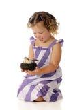 Happy Nest-Holder Stock Photos