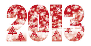 Happy New 2013 year banner Stock Images