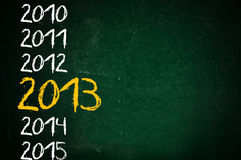 Happy new 2013th year Royalty Free Stock Image