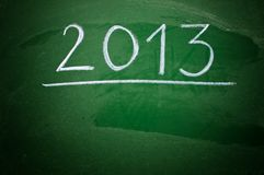Happy new 2013th year Royalty Free Stock Photography