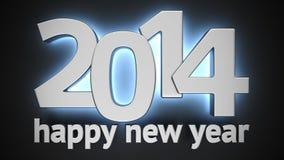 Happy New 2014 Stock Photography