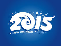 Happy new 2015 design. Stock Photography