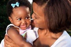 Happy new mom Royalty Free Stock Photography