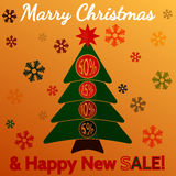 Happy New Sale II Stock Image