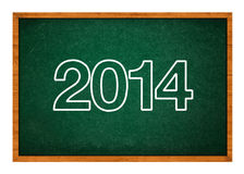 Happy new 2014th year. Next year conceptual image Stock Photography