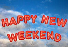 Happy New Weekend Royalty Free Stock Photos