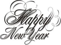 Happy new year 04 Royalty Free Stock Image