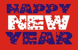Happy new year 10 Stock Image