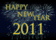 Happy new year. Illustration beckground happy new year Royalty Free Stock Photos
