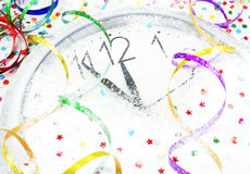 Happy New Year!. Almost midnight!Happy New Year Royalty Free Stock Photos