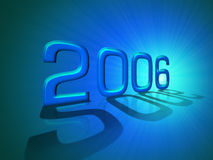 Happy New Year 2006 Royalty Free Stock Image