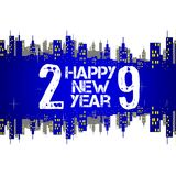 Happy new year 2009 Royalty Free Stock Images