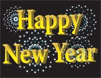Happy new year 2009 Royalty Free Stock Image