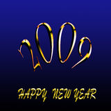 Happy new year 2009 Stock Image