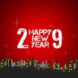 Happy new year 2009 Stock Image