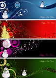 Happy New Year 2010. New Year background with stars vector illustration