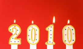 Happy New Year 2010! Royalty Free Stock Images