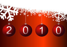Happy new year 2010 Royalty Free Stock Photos