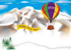 Happy New Year 2010. This image is a  illustration and can be scaled to any size without loss of resolution. This image will download as a .eps file. You will Royalty Free Stock Image