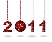 Happy New Year 2011. Merry Christmas and Happy New Year 2011 Royalty Free Stock Photo