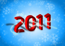 Happy New Year 2011 Royalty Free Stock Images
