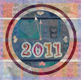 Happy new year 2011 Stock Photography
