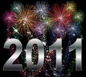 Happy New Year 2011 Royalty Free Stock Photos