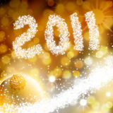 Happy new year 2011. For cards or commercial Stock Photography
