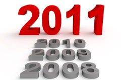 Happy New Year 2011 Royalty Free Stock Photo