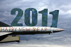 Happy new year 2011. Happy new year without war Royalty Free Stock Photos