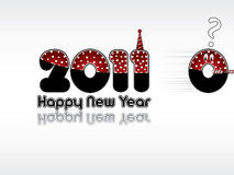 Happy New Year 2011. Funny New Year's Eve greeting card Royalty Free Stock Photos