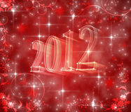Happy new year 2012! Stock Images