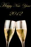 Happy new year 2012 Stock Photos