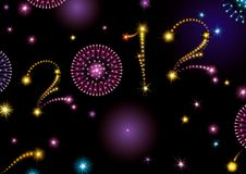 Happy New Year 2012! Royalty Free Stock Image