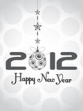 Happy new year 2012 background. Abstract vector happy new year 2012 background Royalty Free Stock Image